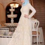 Tesettür Nikah Elbisesi Modelleri 2018