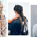 hollanda örgüsü saç modelleri