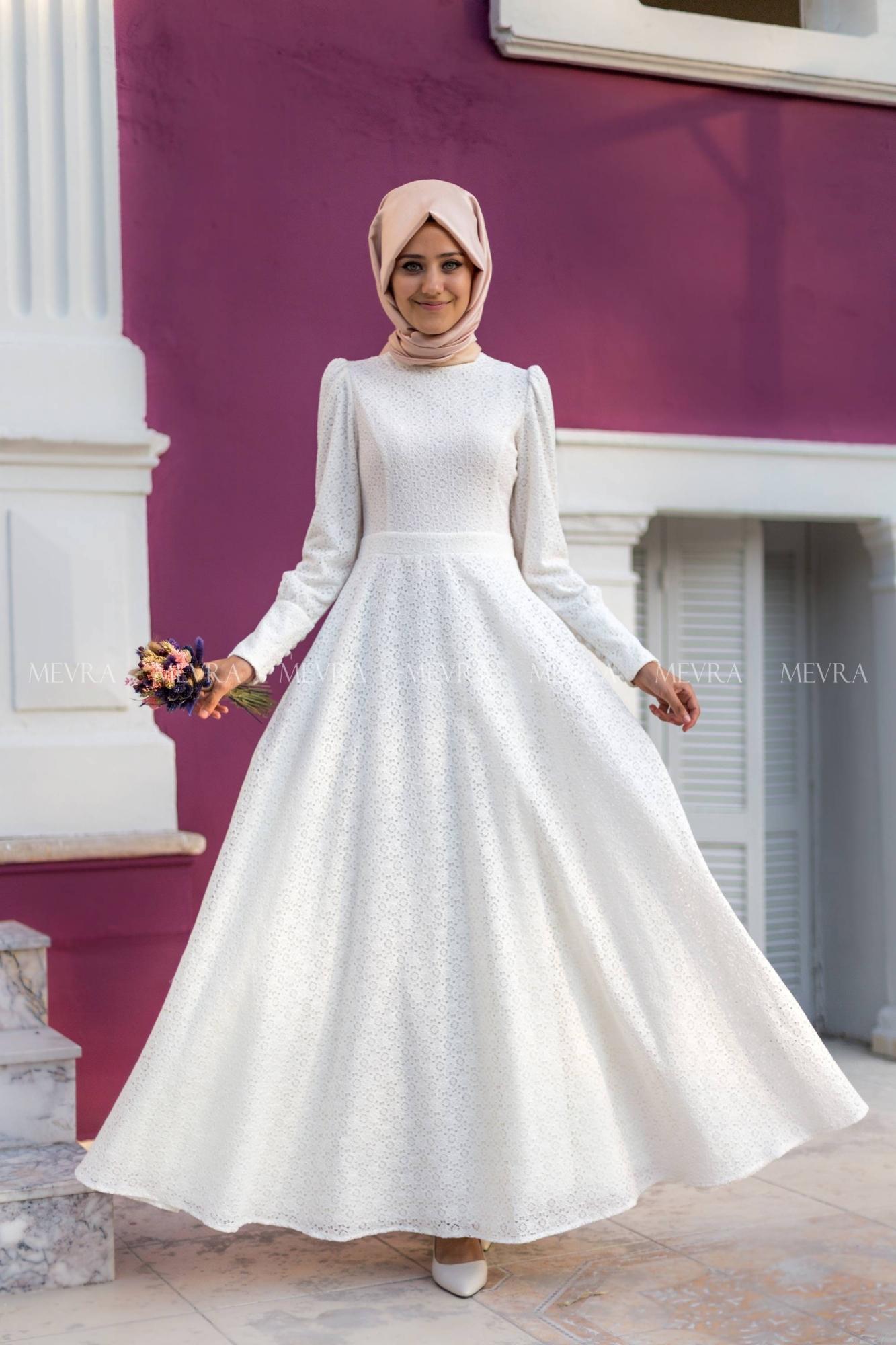 969a774b82b93 Tesettür Nikah Elbisesi Modelleri | Her Güne Bir Yudum Bilgi