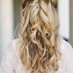 nişan için saç modelleri