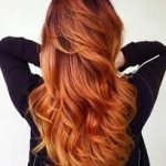 bakır kızıl saç modeli