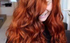 Bakır Kızıl Saç Rengi