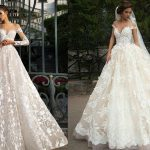 transparent bridal dress 2019-2020