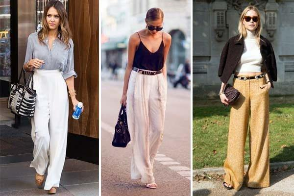Rahat ve Şık Bol Pantolon Kombinleri