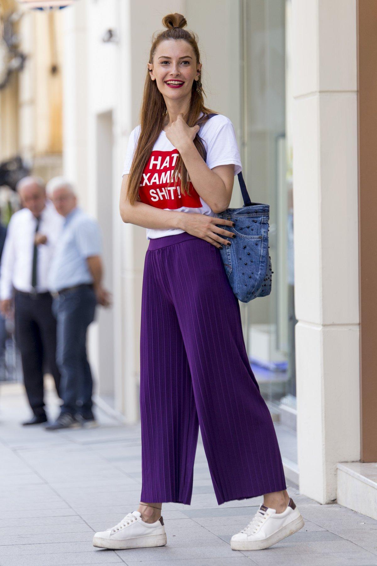 kadın pantolon kombinleri