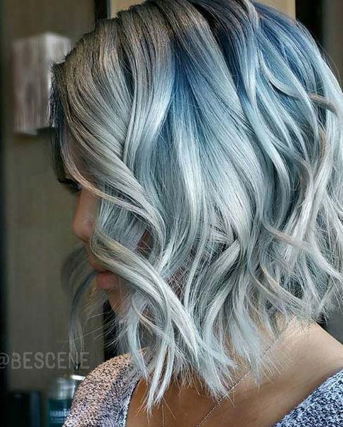 mavi gri sac renkleri