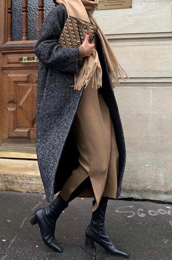 Tesettür Giyimde Kışlık Kombin Önerileri