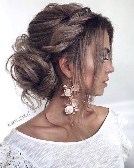 wedding dress hair modals 2019