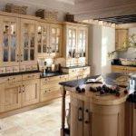 ahsap vintage mutfak dekorasyon