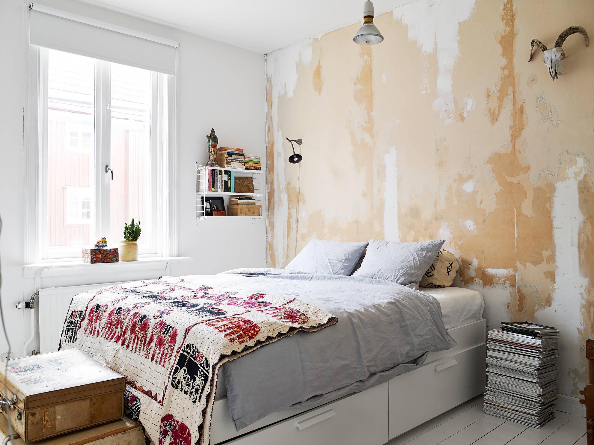 kucuk yatak odasi dekorasyonu