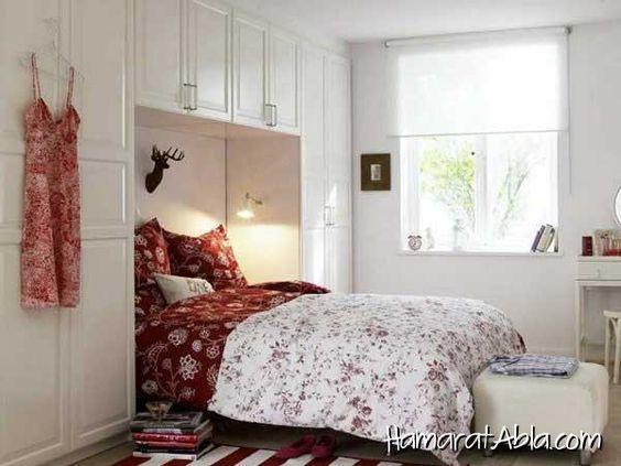 kucuk yatak odasi dekore etme