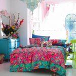 retro tarz yatak odası modelleri