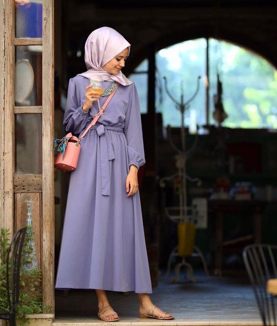 tesettur elbise modelleri 2019