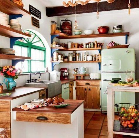 vintage mutfak modelleri