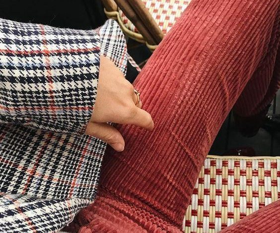 fitilli kadife pantolon modellerş