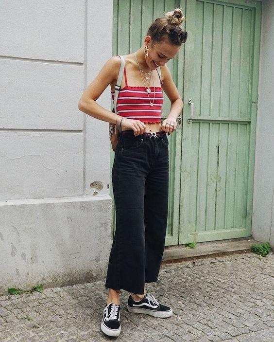 siyah kadife pantolon kombini