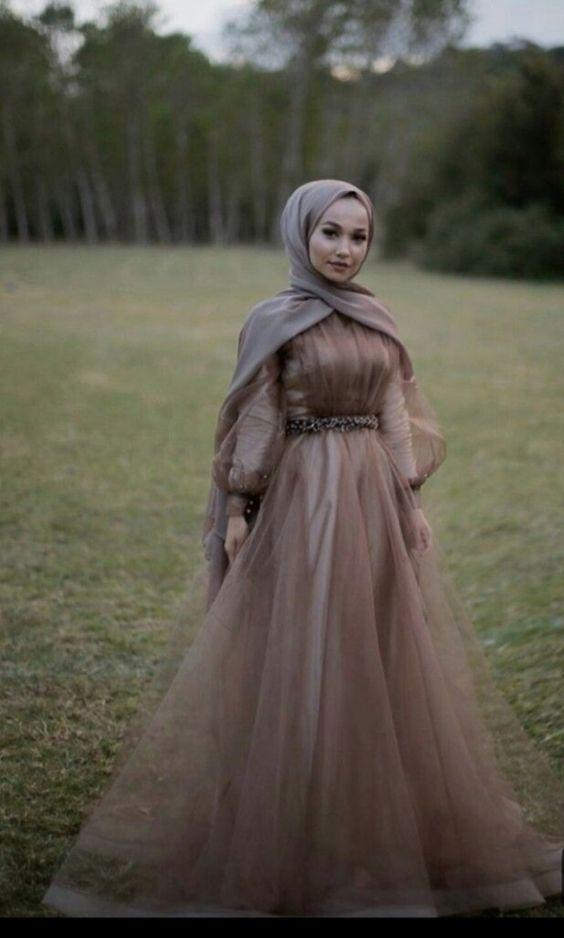 tesettur elbise modelleri 2019 mezuniyet