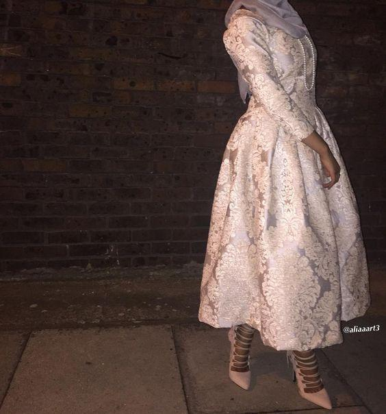tesettur gupur elbise modelleri