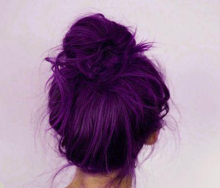 Mor Saç Rengi ve Modelleri