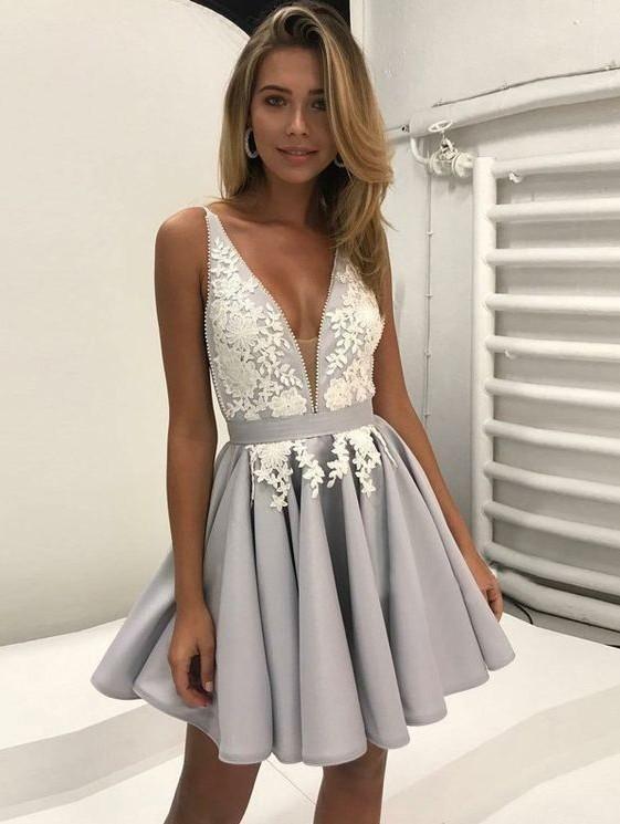 kisa mezuniyet elbisesi modeli 2019