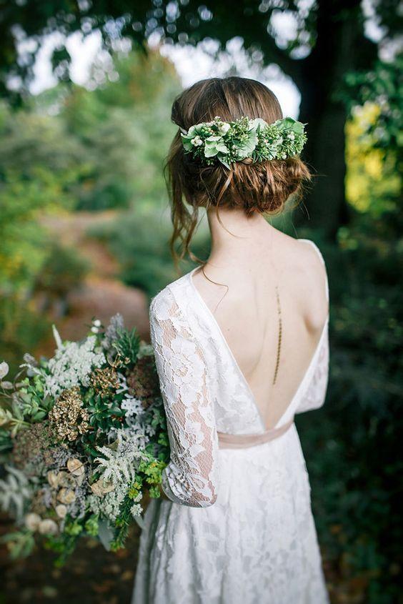 nikah dış çekim beyaz elbise