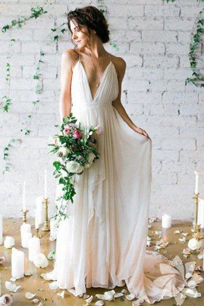 sahil düğünü dış çekim elbise