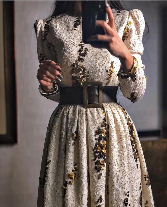 üç boyutlu söz elbisesi modeli 2019