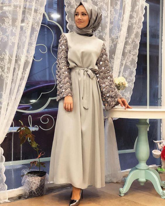 3352d3ead5631 şık tesettür elbise modeli | Her Güne Bir Yudum Bilgi