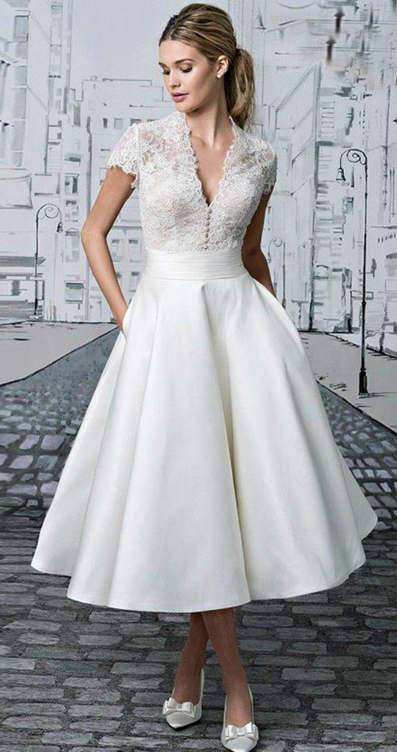 nikah için beyaz elbise modelleri