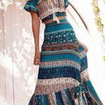 bohemian dresses woman