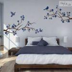 iç açıcı yatak odası dekorasyonu