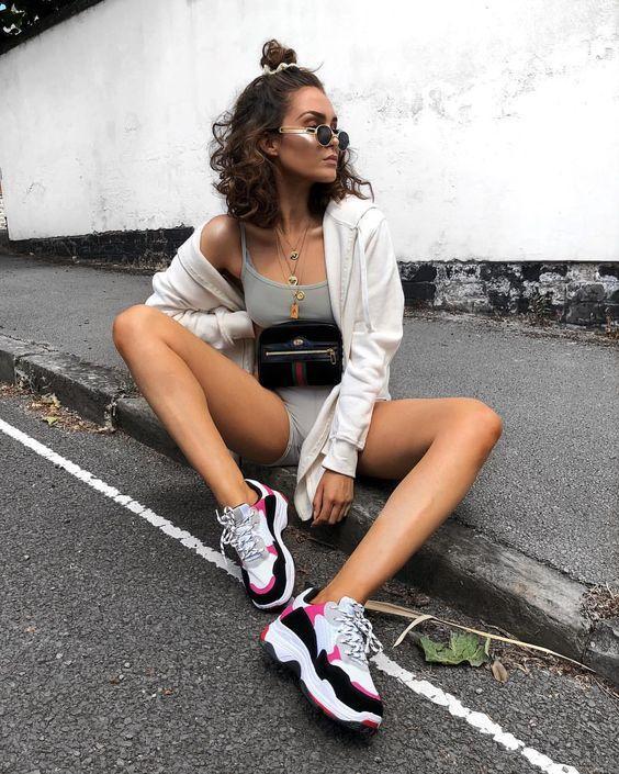 pembe siyah ayakkabı modelleri