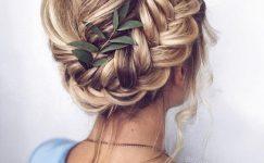 Düğün İçin Örgülü Saç Modelleri