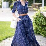 yazlık uzun elbise modeli 2019