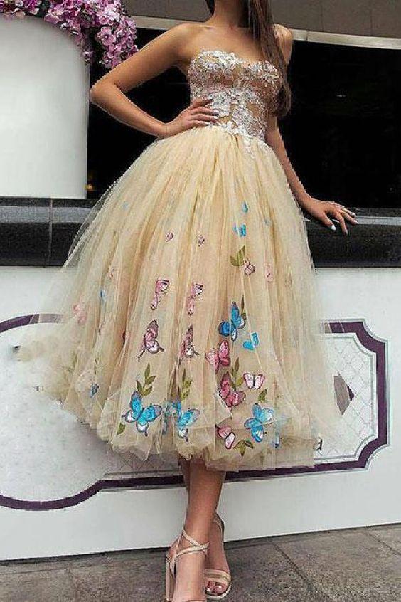 üç boyutlu abiye elbise