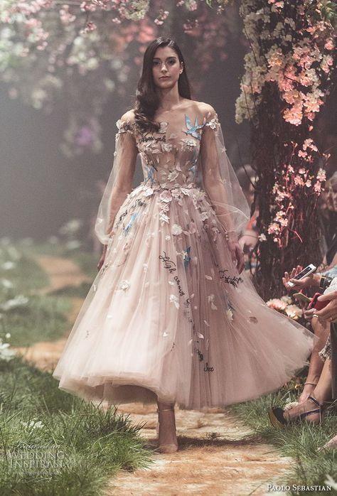 balon kol üç boyut elbise modelleri