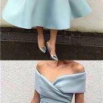 bebe mavisi midi elbise