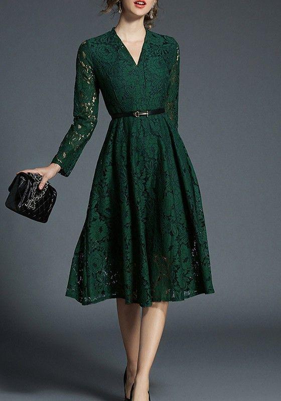 dantelli abiye elbise 2019