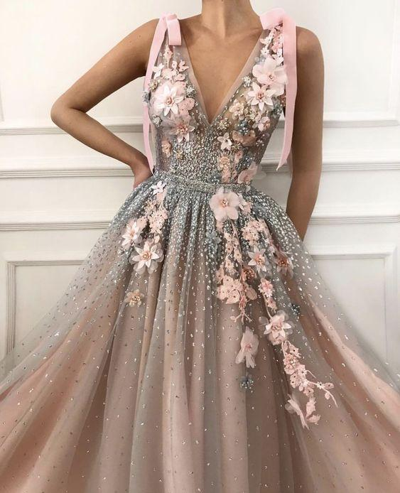 en güzel abiye elbise modeli