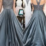 eteği saten abiye elbise modeli