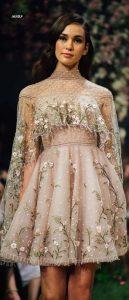 kısa kollu abiye elbise 2019