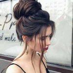 salaş topuz saç modeli