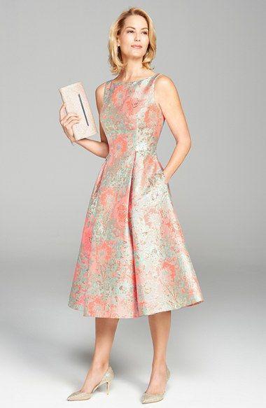 saten pileli elbise modeli