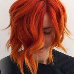 tarçın bakır ombre saç
