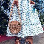 yazlık hasır çanta modeli