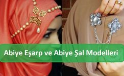 Abiye Eşarp ve Abiye Şal Modelleri