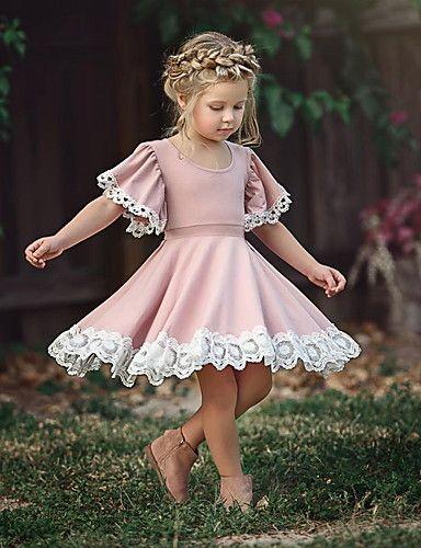 Kloş Pembe Elbise