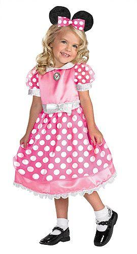 Çocuk Mini Mouse Elbisesi Modeli