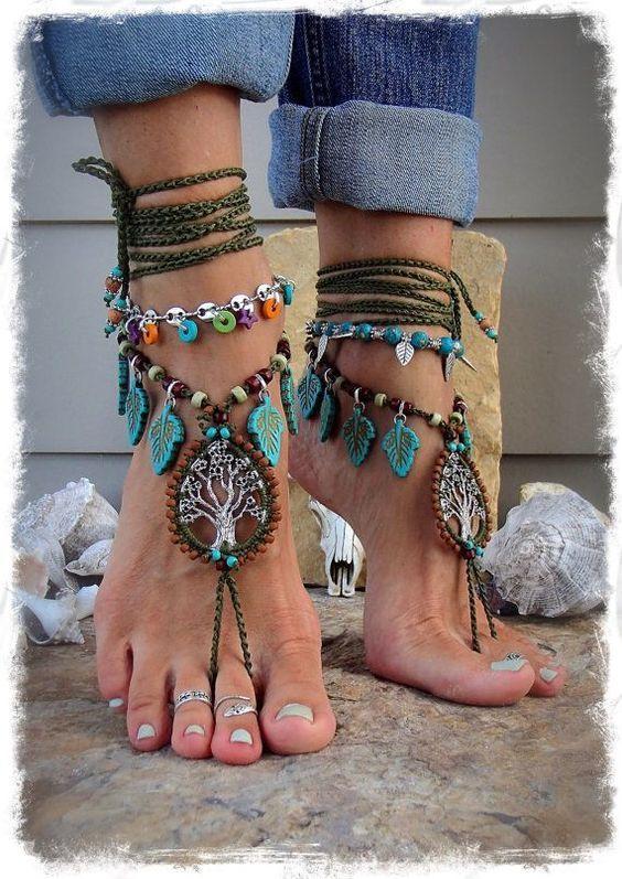hippi tarzı takı modelleri