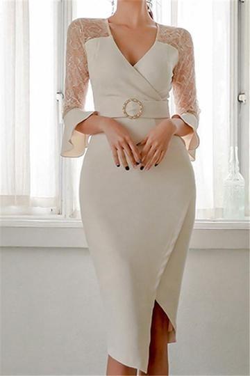 iş elbisesi modeli 2019